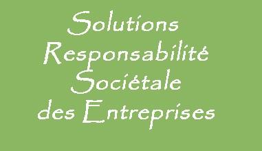Services en Responsabilité sociétale des entreprises